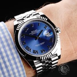 RO22129S Rolex Datejust 41 Unworn Wrist
