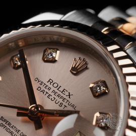 RO22737S Rolex Ladies Datejust Close4