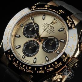 RO22580S Rolex Cosmograph Daytona 18ct Gold Cerachrom Unworn Close2