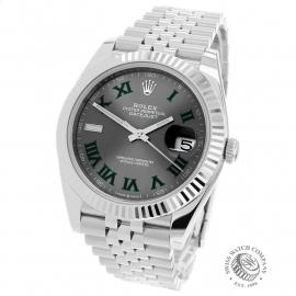 RO22713S Rolex Datejust 41 Back
