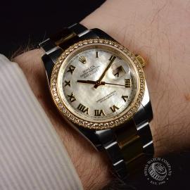21460S Rolex Datejust Wrist 1