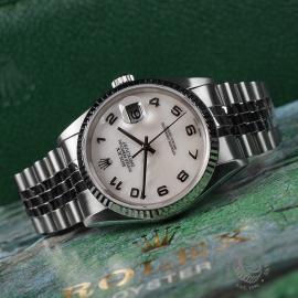 RO22548S Rolex Datejust 36 Close 8