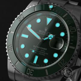 RO22274S Rolex Submariner Date Ceramic 'Hulk' Unworn Close1