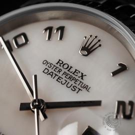 RO22548S Rolex Datejust 36 Close 3