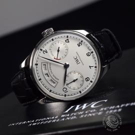 IW17931S IWC Portugieser Annual Calendar Close10