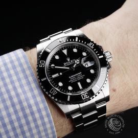 RO22277S Rolex Submariner Date Ceramic 41mm Unworn Wrist