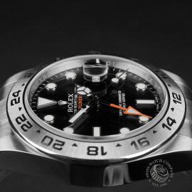 RO22374S Rolex Explorer II Orange Hand Close6