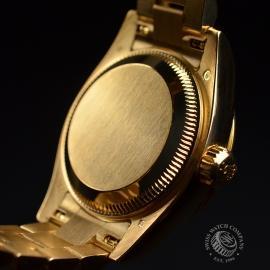 RO21016S Rolex Ladies Datejust 18ct Close10