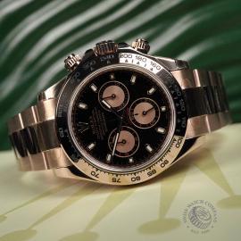 RO22239S Rolex Daytona Everose Gold Unworn Close10