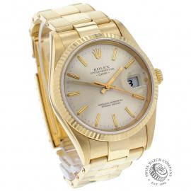 RO22533S Rolex Date 18ct Gold Dial