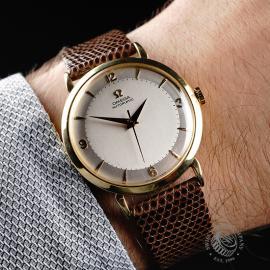 OM868F Omega Vintage 18ct Wrist