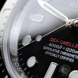 RO21808S Rolex Sea Dweller 50th Anniversary Unworn Close5