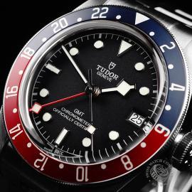 TU21766S Tudor Black Bay GMT Pepsi Bezel Close2