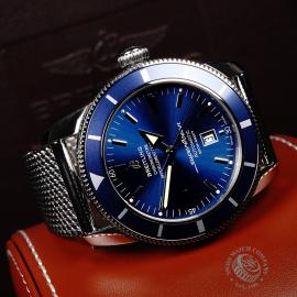 BR21831S Breitling SuperOcean Heritage 46 Close 8