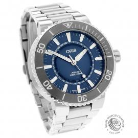 OR22678S Oris Aquis Source Of Life Limited Edition Dial