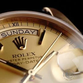 RO21796S Rolex Vintage Day-Date 18ct Close5 2