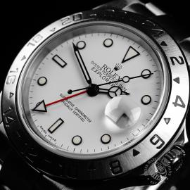 RO22221S Rolex Explorer II 'Polar' Close2