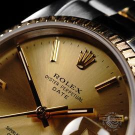 RO21991S Rolex Oyster Perpetual Date Close3 1