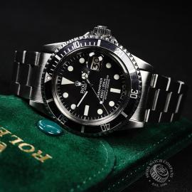 RO21817S Rolex Submariner Date Close10