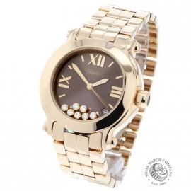 CO20949S Chopard Happy Sport 18ct Back