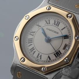 CA20772S Cartier Santos Octagon Close1