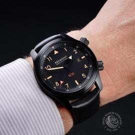 BM21731S Bremont U-2 Black Jet Pilot Watch Wrist