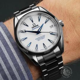 OM22613S Omega Seamaster Aqua Terra Titanium Wrist 1
