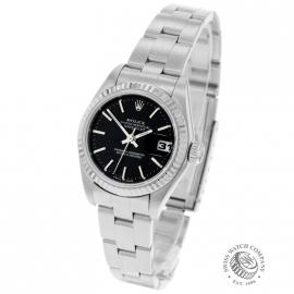 RO21215S Rolex Ladies Datejust Back