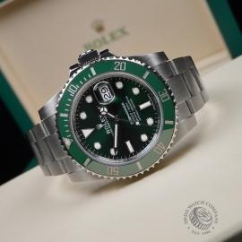 RO21645S Rolex Submariner Date Ceramic 'Hulk' 116610LV Close10
