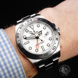 RO22297S Rolex Explorer II Orange Hand Unworn Wrist
