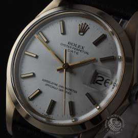 RO21812S Rolex Vintage Date 18ct Close1