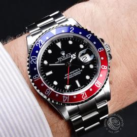 RO21780S Rolex GMT-Master II Wrist