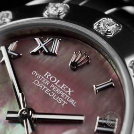 RO22303S Rolex Ladies Pearlmaster Close 3