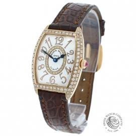 Franck Muller Curvex 18ct Rose Gold Ladies