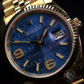 RO1816P Rolex Datejust 18ct Close2