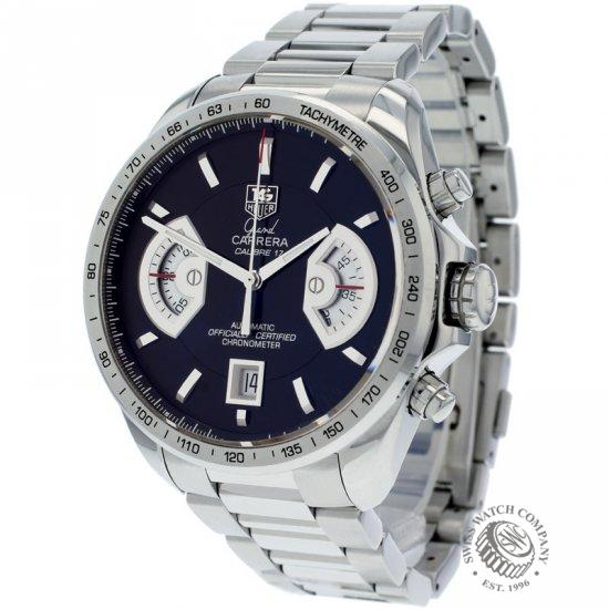 db8d4e99726 Tag Heuer Grand Carrera Calibre 17 RS Watch - CAV511G - Ref: - Tag ...