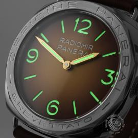 PA21873S Panerai Radiomir 3 Days Acciaio Brevettato Close1
