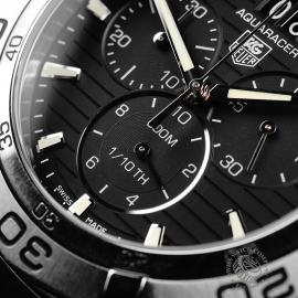TA22125S Tag Heuer Aquaracer Chronograph Close4