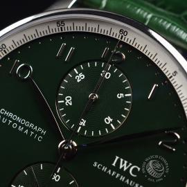 IW18253S IWC Portuguese Chrono Boris Becker Limited Edition Close4