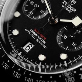TU22227S Tudor Heritage Black Bay Chronograph Dark Close4