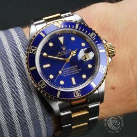 RO22727S Rolex Submariner Date Wrist