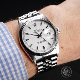 RO1921P Rolex Vintage Datejust 36 Wrist