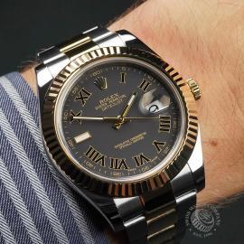 RO22735S Rolex Datejust II Wrist