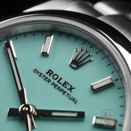 RO22454S Rolex Ladies Oyster Perpetual Unworn Close3