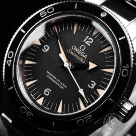 OM22237S Omega Seamaster 300 Master Co-Axial Close2