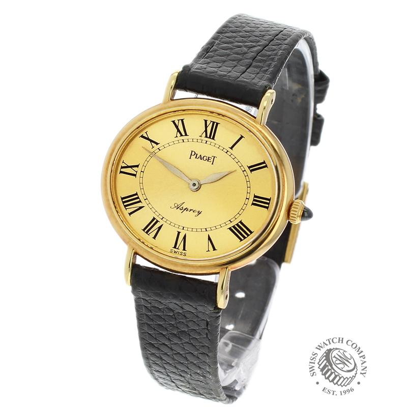 Piaget Ladies Vintage 18ct Gold 'Asprey'