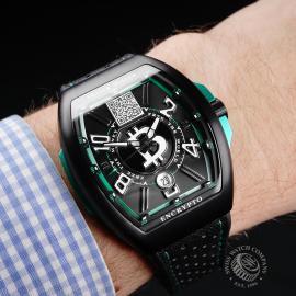 FM1948P Franck Muller Vanguard 'Encrypto' Limited Edition Wrist