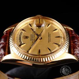 RO645F Rolex Day Date 18ct Close 6