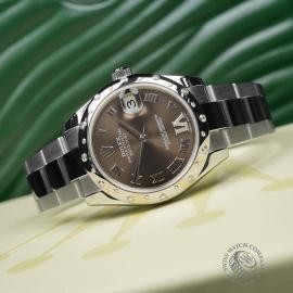 RO22610S Rolex Ladies Datejust Midsize Close2