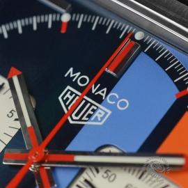 Tag Heuer Monaco Calibre 11 Gulf Limited Edition Close7